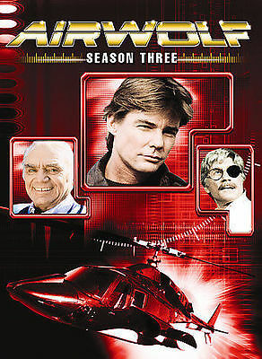Airwolf - Season 3 (DVD, 2007, 4-Disc Set) FREE SHIPPING