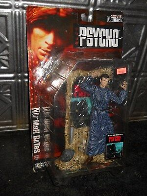 McFarlane Toys NORMAN BATES PSYCHO Movie Maniacs Series 2 Toy Action Figure 1999
