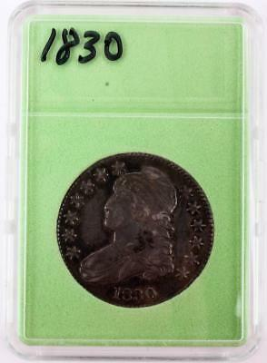 Coin, US: 1830 Silver Capped Bust Half Dollar