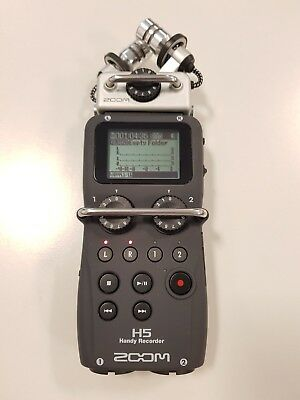 Zoom H5 Four-Track Portable Recorder - GREAT CONDITION + 4x ENELOOP BATTERY PACK