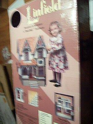 Wood Dollhouse Kit Linfield By Duracraft