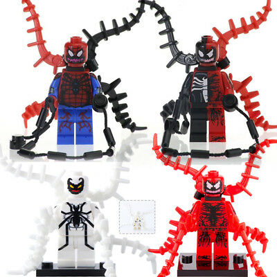 Venom x Carnage Fused Minifigure Spiderman New /& Sealed Gift For Kids