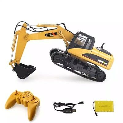 New Excavator Demonstration Toy 1:14 15CH RC Car Alloy  2.4Ghz Remote control