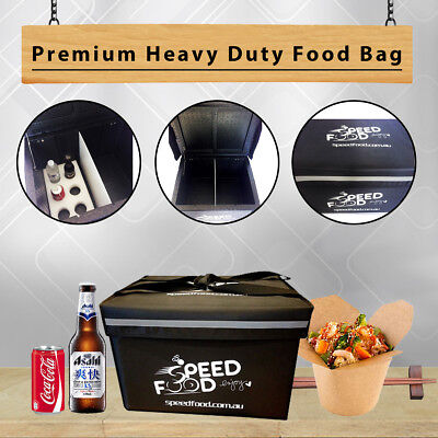 Fully insulated-Heavy Duty Food Box-Pizza Delivery Bag-Food Delivery Bag