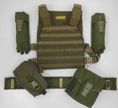 PLATATAC Olive Green SAC Plate Carrier BONUS PACK