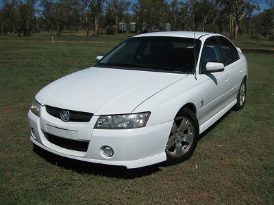 2005 Holden VZ Commodore SV6 5-Speed Auto Paddle Shift Alloytec190 ROLLING SHELL