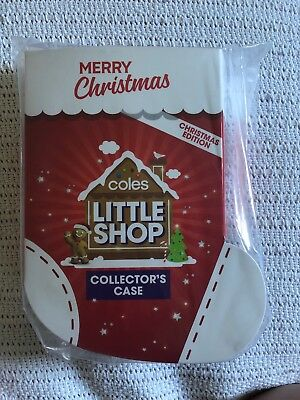 Coles Little Shop Mini Collectors Case Christmas Edition Brand New In Packaging