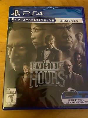 The Invisible Hours VR (PlayStation 4 PSVR) PS4 Brand New, Region Free