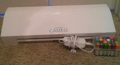 Silhouette Cameo 3 Cutting Machine 24V 1.25A With BlueTooth And Kit-ColorPens