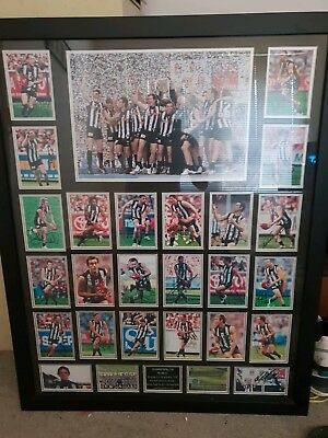 Collingwood 2010 Fully Hand Signed And Framed