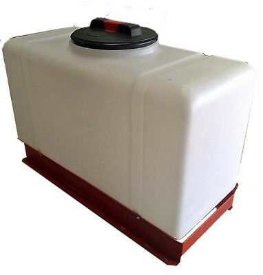 100L Tank with frame, Valeting Systems, Water Storage, Natural ONLY