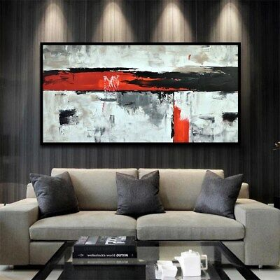 YA894 Large Modern 100% Hand-painted abstract oil painting on canvas