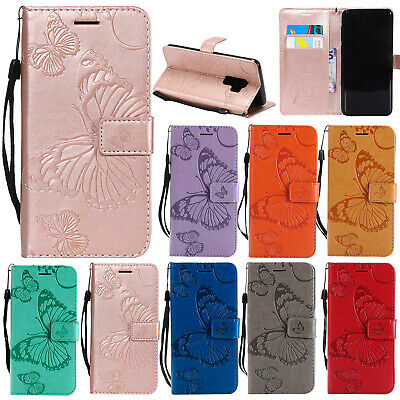 For Samsung J2 Pro 2018 A8 J5 J7 Pro Note 9 S8 Leather Wallet Case Stand Cover