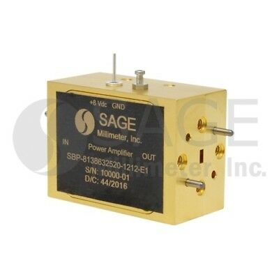Sage Millimeter SBP-8138632520-1212-E1 WR-12 Waveguide, E Band Power Amplifier