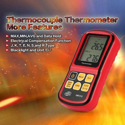BENETECH K Type Digital Thermocouple Thermometer -50~300℃ Temperature Meter YY
