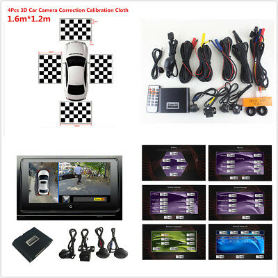 Car SUV 1080P HD 360 Degree Surround Bird View Camera System with DVR Recorder