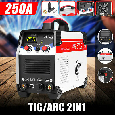 220V TIG/ARC Welding Machine 250A 7000W MMA IGBT DC Inverter Gas Stick Welder