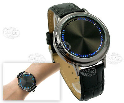 Electronic LED Touch Screen Sport Fashion Deisng Unisex Wrist Watch Decor