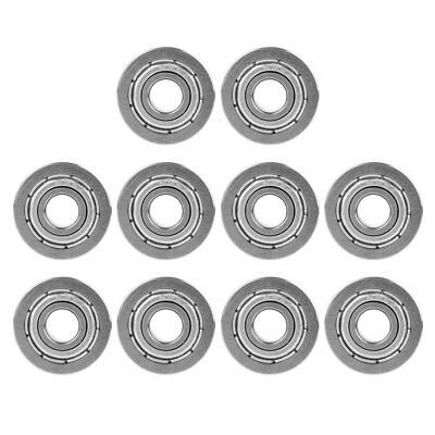 10x F695ZZ High Speed Flanged Ball Bearings Metal Sealed Shielded 5mmx13mmx4mm
