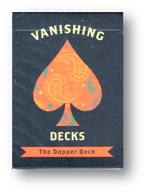 The Dapper Deck (Blue) Printed by USPCC by Vanishing Inc. Poker Spielkarten