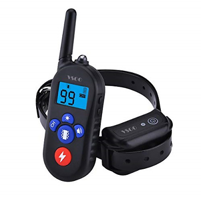 VSOO Dog Training Collar PES002, 100% Waterproof and Rechargeable Dog Shock 330