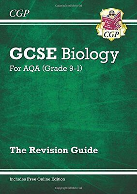 New Grade 9-1 GCSE Biology: AQA Revision Guide with Online EditionNEW