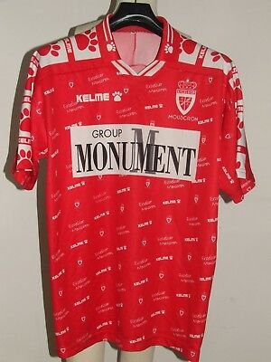 SOCCER JERSEY TRIKOT MAILLOT CAMISETA EXCELSIOR MOUSCRON size XXL