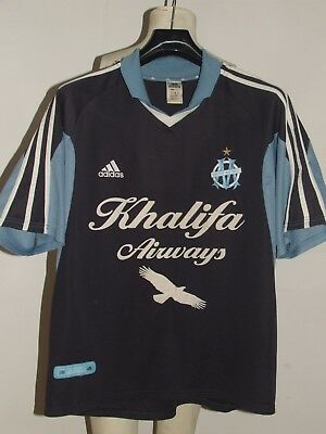 SOCCER JERSEY TRIKOT MAILLOT OLYMPIQUE MARSEILLE MARSEILLE 90'S size XL