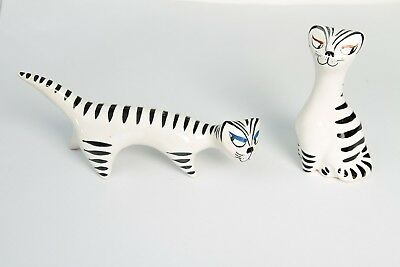 Vintage1950's Regus Cat Pottery Stylised-Super Rare+bonu-Reg Presto-Gus McLaren