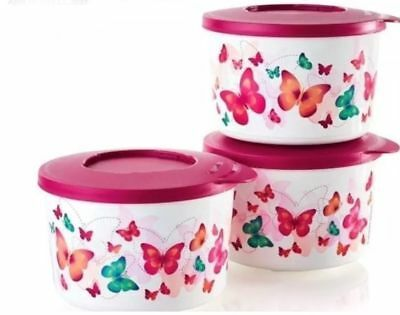 Tupperware Butterfly Sides Set - Brand New!!