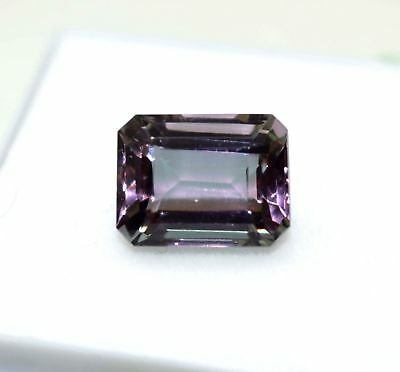New Offer 11.15CT GGL Certified Emerald Cut Brazilian Alexandrite Color Changing