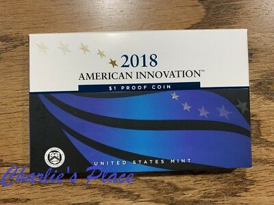 2018-S American Innovation $1 Proof Coin