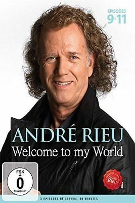 Andre Rieu Welcome To My Word - Part 3 DVD  (New)