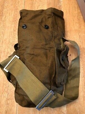 Russian / Soviet Military Surplus Gas Mask Vintage Bag, Snack, Hiking, Paintball