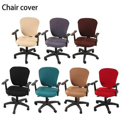 Office Armchair Computer Swivel Rotating Desk Chair Cover Protector Removable
