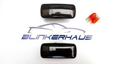 SCHWARZE Seitenblinker Chrysler 300C Jeep Patriot Grand Cherokee Compass Dodge