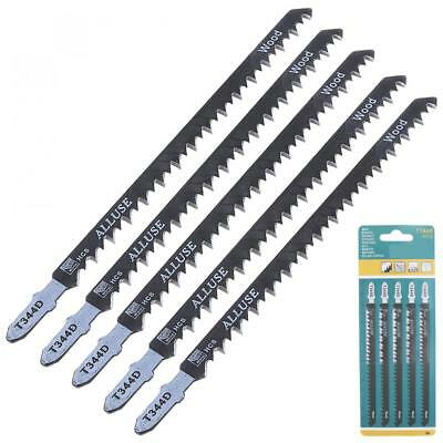 5pcs/set T344D 150mm High-carbon Steel Reciprocating Saw Blade Straight Jig Saw