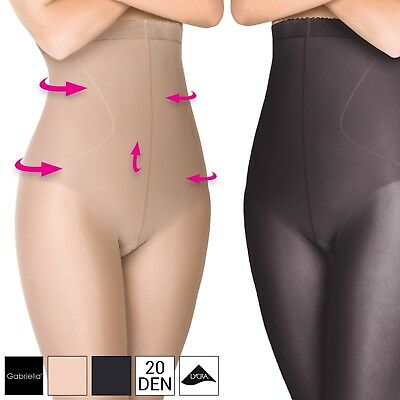 Bauch-Weg Strumpfhose Push-Up Korrektur Po Lift-Up Figurformende Shapewear 20DEN
