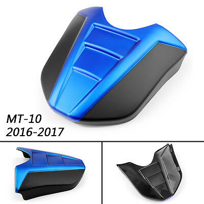 1 pc ABS plastic Rear Seat Fairing Cover Cowl For Yamaha 2016-2017 MT-10 Blue B2