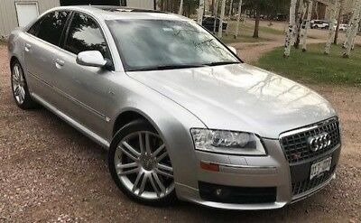 2007 Audi S8 S8 Check out this all aluminum bodied Audi S8 with Lamborghini V10 engine.