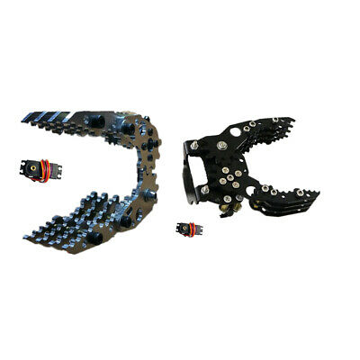 Aluminum Alloy Mechanical Robotic Arm Clamp Claw Mount Robot Kit for -3316