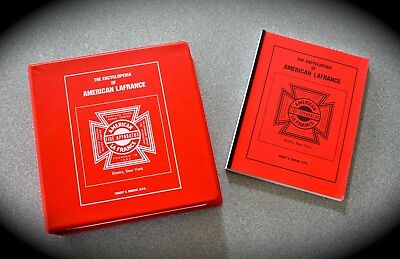 *The ENCYCLOPEDIA OF AMERICAN LAFRANCE with SUPPLEMENT ONE-#326 of 1000 printed