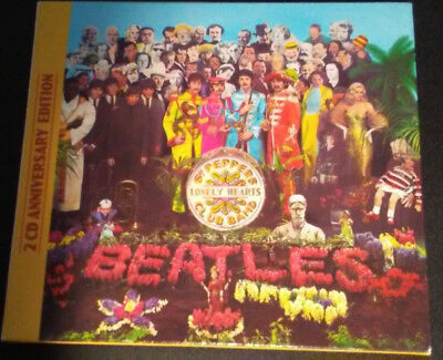 Sgt. Pepper's Lonely Hearts Club Band, The Beatles (50th Anniversary Edition CD)