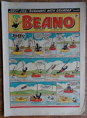 # 582 BEANO COMIC No. 582. SEPTEMBER 12th 1953. EARLY ISSUE.