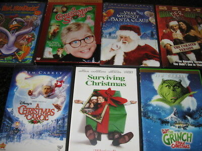 7 DVD Christmas Movie Collection