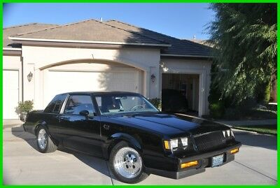 1987 Buick Regal Grand National Turbo 1987 Buick Regal Grand National Turbo,3.8L V6,4-Spd Automatic,3300 OM,A/C