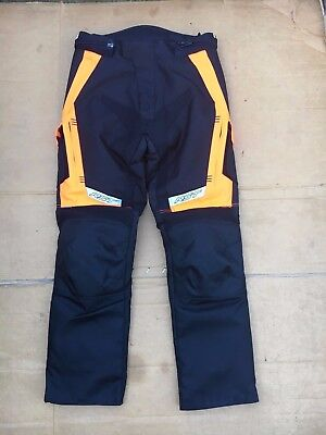 "RST Mens Touring Textile Motorbike Motorcycle Trousers UK 32"" Waist   LBE"