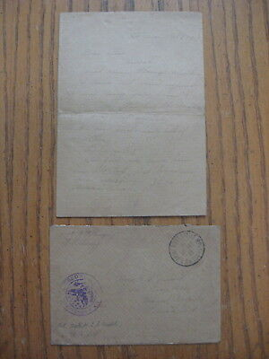 WW1 AEF SOLDIER LETTER 126th INF,OVER THE TOP SIX TIMES OCT. 8TH 1918