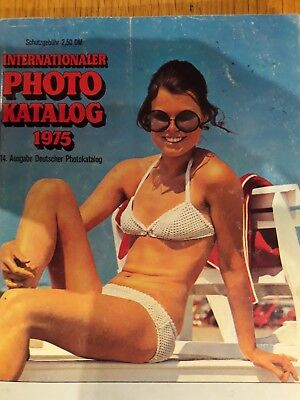 Internationaler Photo Katalog, 1975, 14. Deutscher Photokalog 192 Seiten