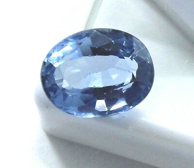 5.70 Ct Natural Oval Cut Transparent Ocean Blue Aquamarine Gem Ggl Certified